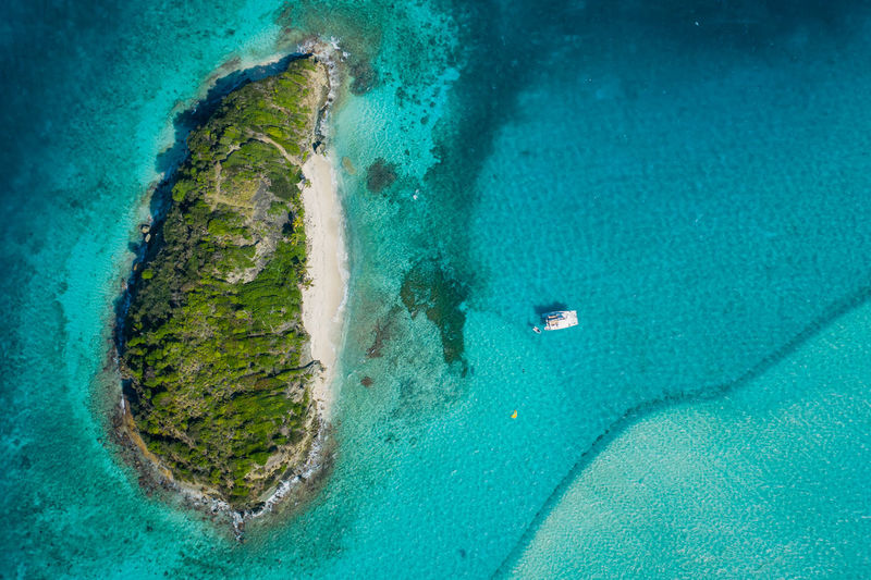 Sea Water Nature Aerial View Beach Turquoise Colored Sea Life No People Outdoors