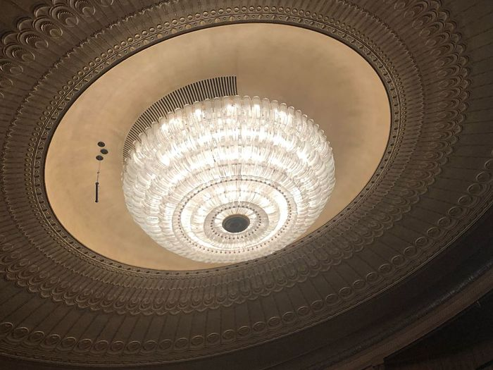 Lamp Post Architecture Circle Indoors  Built Structure Shape Geometric Shape Ceiling