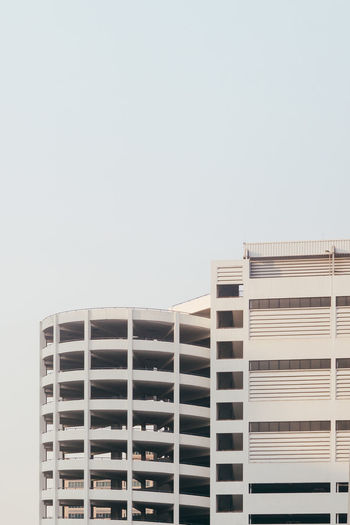 Architecture Building Exterior City Clear Sky Day Minimal Minimalism Minimalist Architecture Modern No People Outdoors Simplicity Sky Skyscraper Sunset The Architect The Architect - 2017 EyeEm Awards The Graphic City