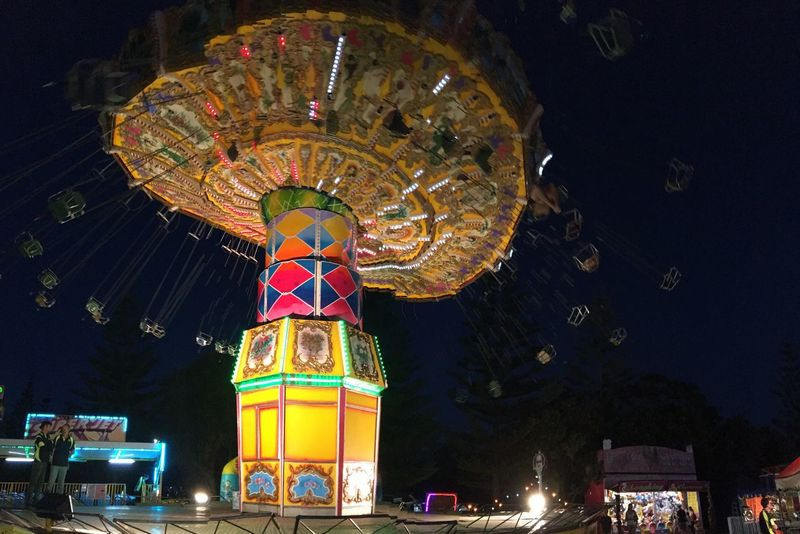 """""""The last night of the fair"""" Coffs Harbour 9 January 2017 Amusement Park Traveling Carnival Carousel IPhone 6s+ Pictureshown"""