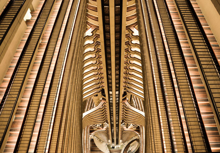 Architecture Hyatt Regency Lines USA Atlanta Close-up Day Hotel Indoors  No People Pattern EyeEmNewHere Rethink Things Steps Steps And Staircases Stairs Staircase Gold Gold Colored Contrasts The Graphic City Inner Power The Still Life Photographer - 2018 EyeEm Awards EyeEmNewHere My Best Travel Photo Capture Tomorrow Capture Tomorrow My Best Photo