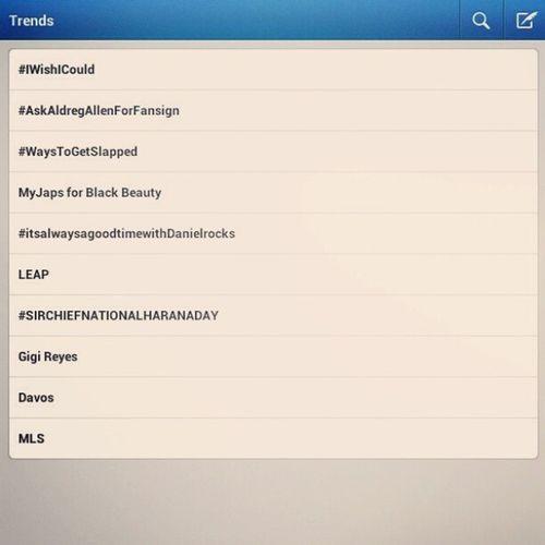 Trending si sir chief!!!! BCWMH