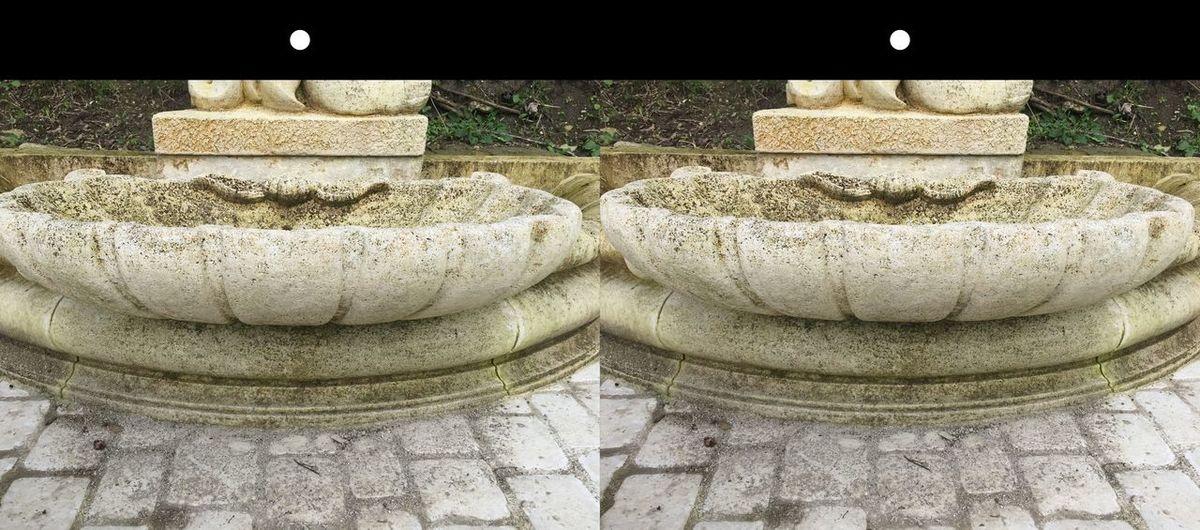 Sur le chemin de Compostelle 🐚💥✨🌟 Charente France 3D Relief ANAGLYPHE Anaglyph Sculpture Art Balades