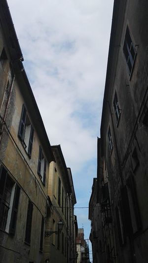 Albenga Apartment Architecture Architecture Architecture_collection Building Building Exterior Built Structure City City Life Cloud Cloud - Sky Cloudy Day House Italy Low Angle View No People Outdoors Residential Building Residential District Residential Structure Sky Window
