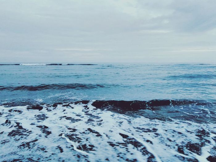 Waves like a beer Sea View Beatch Summers First Eyeem Photo