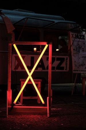 Berlin Illuminated Kreutzberg Neon Night Street Ticket Booth Xjazz Xpro2