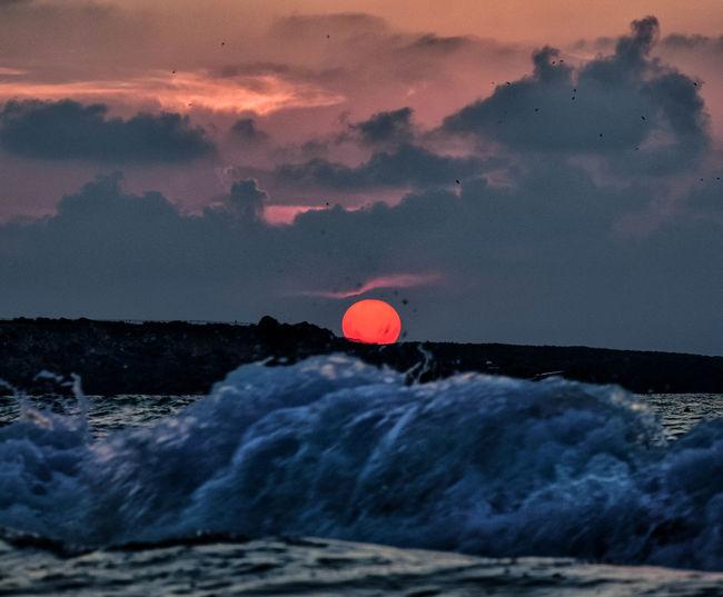 Sunset Red Sea