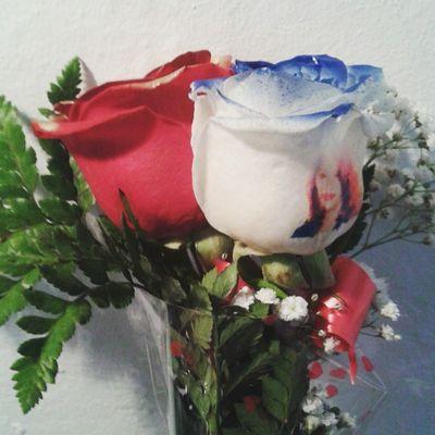 Ramo de rosas con una rosa roja y una rosa con los filos de los petalos en azul y una fotografia tatuada en el petalo, es uno de nuestros articulos originales de nuestra web de flores a domicilio http://graficflower.com, visitanos y sorprendel@s. Rosasazules Rosaazul Rosas Rosa Ramoderosas Ramosderosas Ramosdeflores Floweroftheday Flowerslovers Flower Flowers Flowerstagram Regalo Regalooriginal Regalosoriginales Regalos