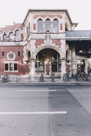 Olde Ubahn Architecture Train Station Façade