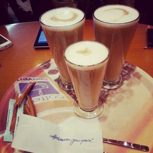 Kawa Latte Coffeeheaven Przerwa chujowapogoda