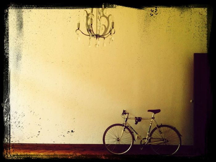 Bike in an old flat First Eyeem Photo