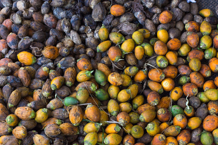 Betel nuts on floor Abundance Backgrounds Betel Nuts Close-up Consumerism Day Food Food And Drink Freshness Fruit Full Frame Healthy Eating Large Group Of Objects Market Nature No People Outdoors Retail  Supermarket Vegetable
