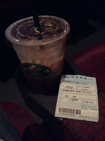 Starbucks Coffee Dawn Of The Planet Of The Apes 早起看电影