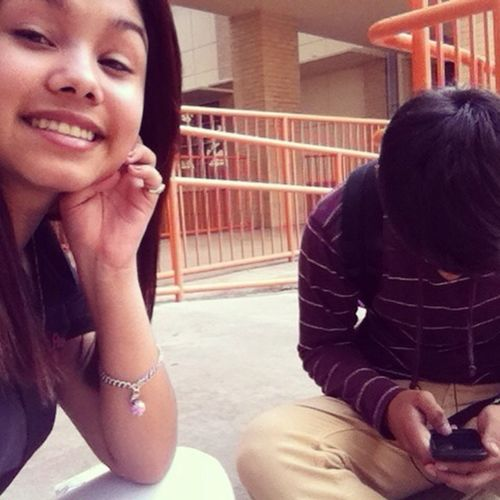 Me And My Bestfriend High.. Lol Jk He Dont Smoke .-\