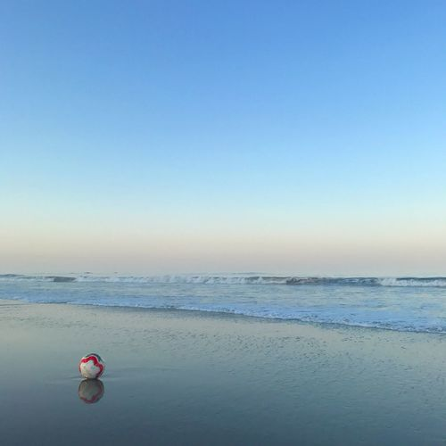 beached ball.