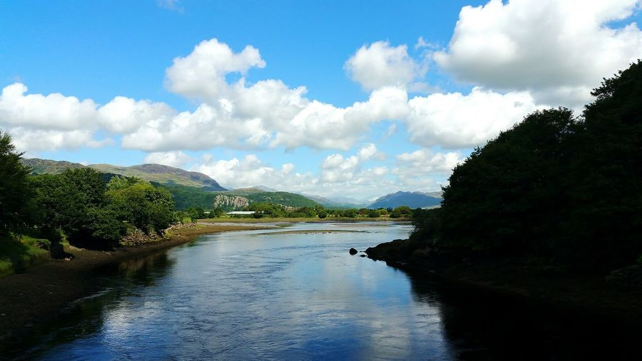 Cloud - Sky Landscape Water Mountain Outdoors Travel Destinations Scenics Tranquility Walking Around North Wales Porthmadoc Porthmadog