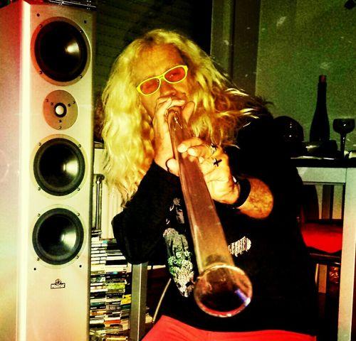 Glas - Didgeridoo Faces Of EyeEm Didgeridoo Brille People