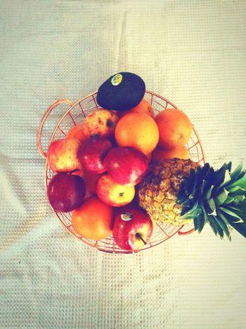 Dezy21'sFriends Dezy21AlbumofAwsomeness Basket of fruit 🍎🍏🍉🍍🍊🍓 👌🏾