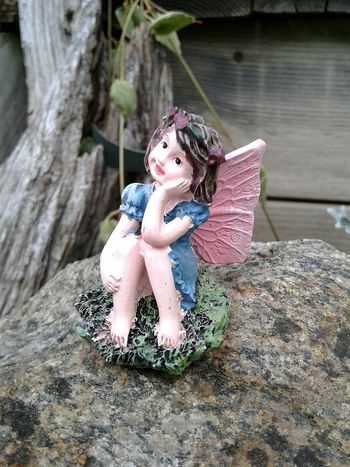 Outdoors Close-up Garden Whimsey Lawn Ornaments Fairy Garden Galaxy On5 Not My Garden Toys In The Attic
