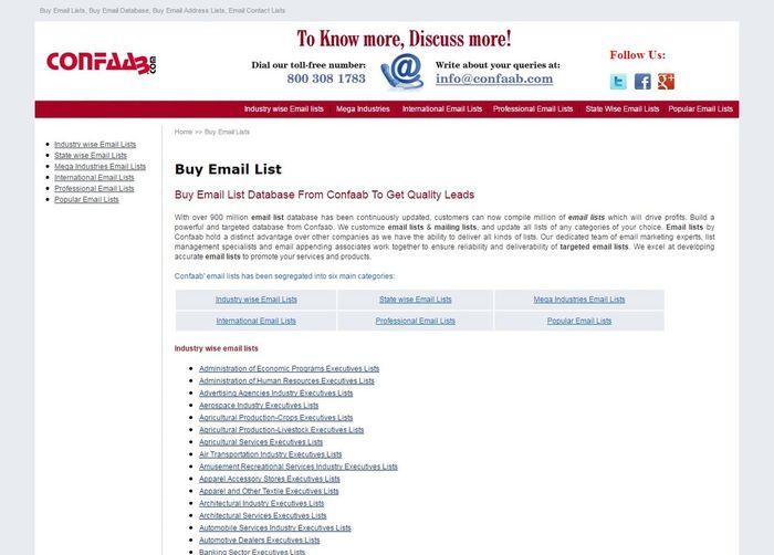 Get mailing list provider from Confaab.com Confaab Email Address List Email List Mailing Lists First Eyeem Photo