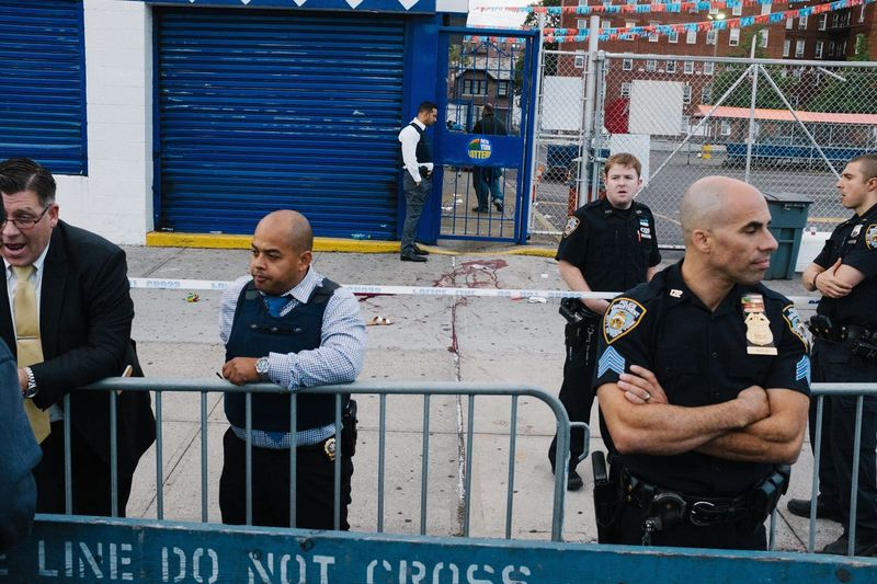 The Photojournalist - 2017 EyeEm Awards Crime Scene NYPD Jouvert NYPD Detectives Police Brooklyn Homicide New York City The Street Photographer - 2017 EyeEm Awards