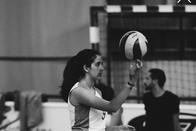 Focus to achieve success! Two People Indoors  Young Adult Adults Only Only Women Adult People Young Women Day Friendship Volleyball Focus Welcome To Black The Troublemakers