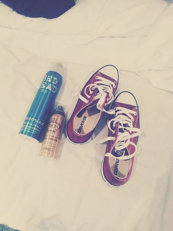 from sweden♥ Converse Bed Head Hair Products