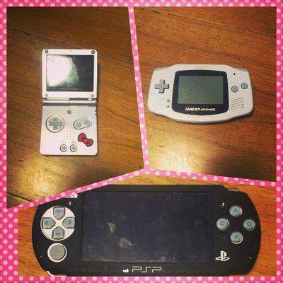 I <3 my # handhelds. Nintendo Gamer PSP Gameboy Playstation Igersnintendo GBA Playstationportable Gameboyadvance Gameboyadvancesp Ninstagram Handheldconsole Consoles Nintendlife