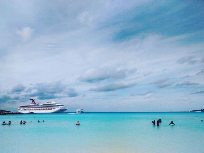 Carnival Cruises Half Moon Cay First Eyeem Photo