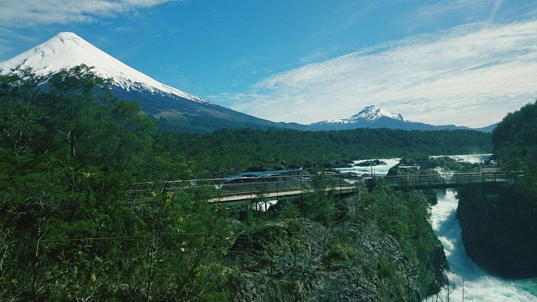 Saltos Del Petrohue Chile Enyoing Life Traveling