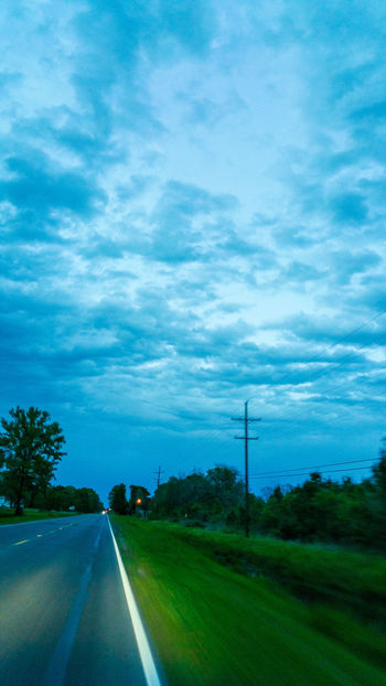 Sky And Clouds Sky Clouds Late Evening Drivebyphotography Outdoors Stormy Weather