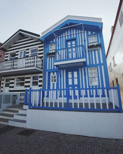 Architecture Built Structure Building Exterior Text Day Outdoors Blue No People Travel Destinations Sky Close-up aveiro Portugal Architecture Sea Clear Sky