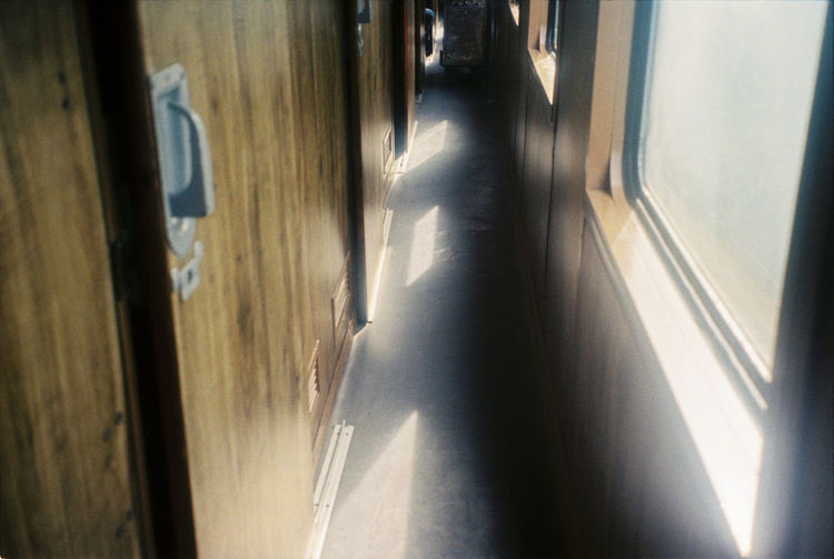 Close-up Day Door Indoors  No People Shadow Sunlight Train , Decay , Urban Exploring , Rusty Transportation Vietnam , Hue , Asia , Beauty , Landscape , Film , 35mm , Vintage , Country , People , Lifestyle