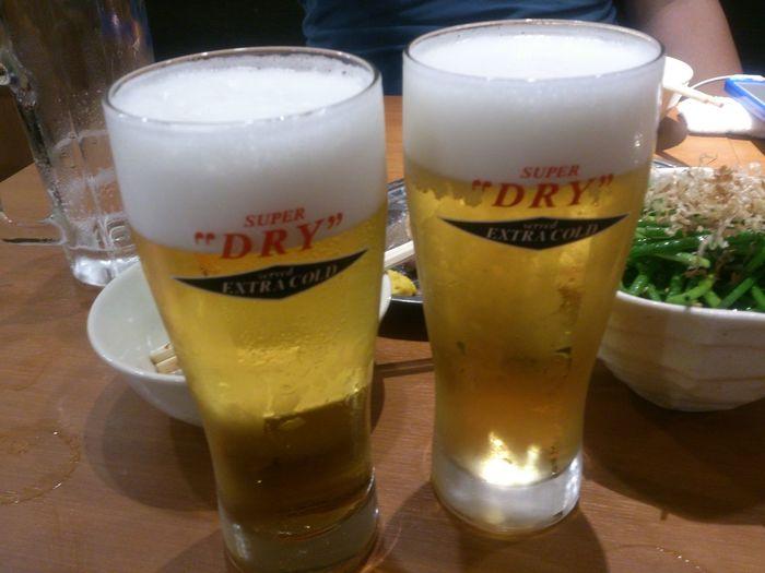 趣味の仲間と エクストラコールドで乾杯♪ アサヒスーパドライ Beer