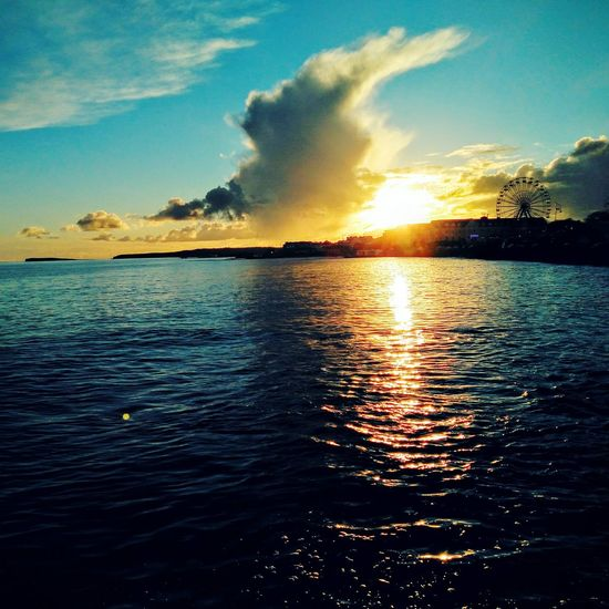 Beauty Check This Out Amateur Photography Sunset Galway Bay Funfair