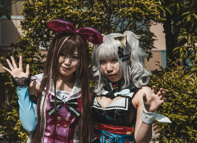 // cosplay // AMPt_community Anime Artist EyeEm EyeEm Best Shots EyeEm Selects Females Japan Cultures Day Front View Girl Girls Hairstyle Leisure Activity Lifestyles Outdoors People Plant Real People Streetphotography Teenager Tree Two People Women Young Women
