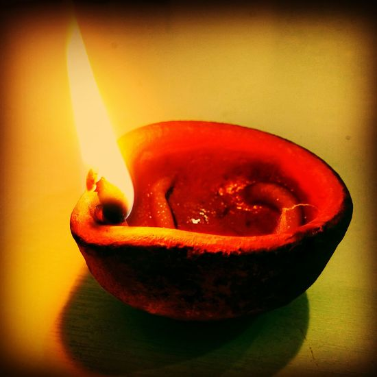 Happy Diwali to all my friends. .. ????? Diwali 2014 Festivaloflights Diya Flame