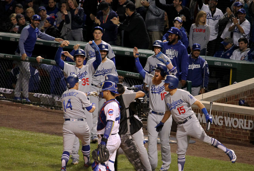 #NLCS #baseball #baseball Is Life #chicagocubs #grand Slam #happy #GoodMood #home Run #losangelesdodgers Day Large Group Of People Men Outdoors People Real People