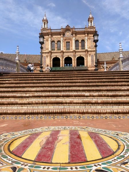 Architecture History Travel Destinations Plaza De España City Lifestyle Architecturephotography SPAIN Turistic Places Sevilla, España Streetphotography Walking Around Architecture Building Exterior Travel Low Angle View Andalucía Architecturelovers
