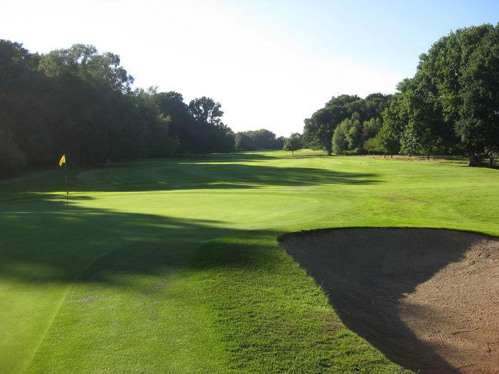 Bunker Golf Golf Course Golf Flag Green Green Color Nevill Golf Club Sand Trap Shadows & Lights Tunbridge Wells