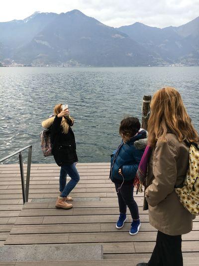 The Tourist Italy Italia Lovere Selfie ✌ Lago D'Iseo