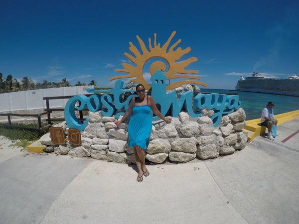 EyeEm Selects Costa Maya ♡ Costa Maya, Mexico GoPro Hero5 Black Gopro Blue Celebration Love Vacation Royal Caribbean Cruise RoyalCaribbean