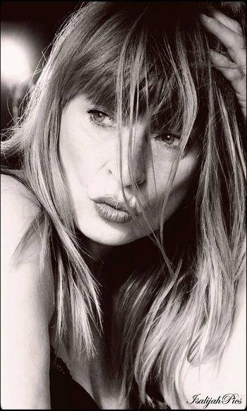 Models Nikki Van Rie Fashionmodel  70ties Belgium