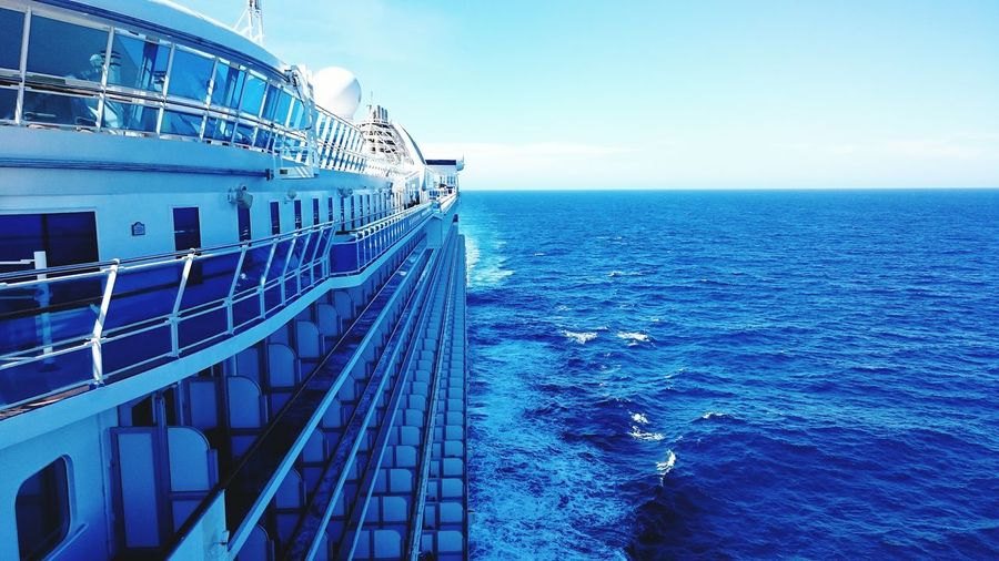 Sea Blue Water Vacations Travel Ship Nautical Vessel Horizon Over Water Outdoors Ships🚢 Golden Princess Sea Life Ships⚓️⛵️🚢 Australia Bass Strait