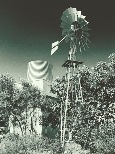 No water without wind ... Water Windmill Life Farm Growth