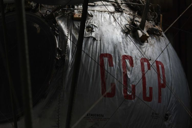 Soviet Union Ussr Graffiti No People Red Transportation Destruction Dark Communication Architecture Damaged Text Western Script Dirty Aggression  Close-up Blood Sign Indoors  Spray Paint Night Car