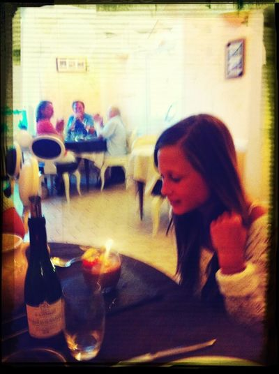 ailis birthday dinner