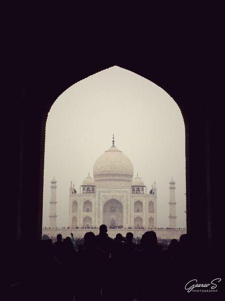 Taj Mahal Symboloflove Architecture Photography Photographylove❤ Epitomeofbeauty Seven Wonders Of The World DSLR Photography