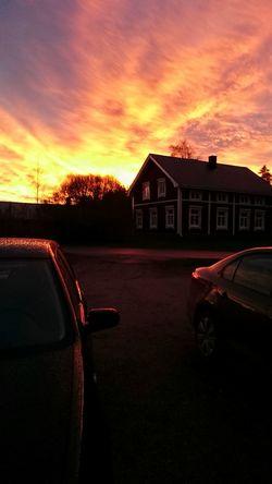 Sun Nature Summer Scandinavia Sony Xperia Z3 Finland Sky Landscape Sunrise