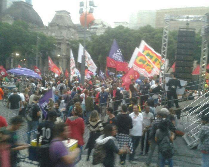 Manifestação Foratemer Protestor DiretasJá Cinelândia